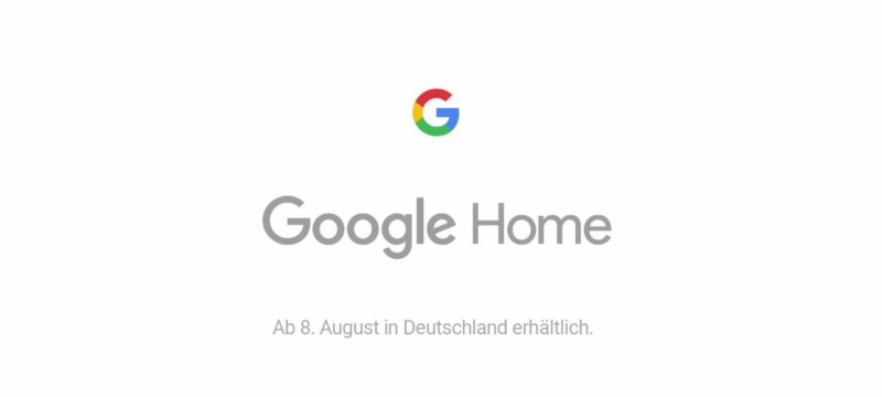google home in deutschland