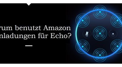 Amazon Echo Einladungen