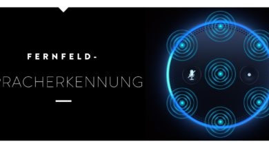 Amazon Echo Fernfeld Spracherkennung