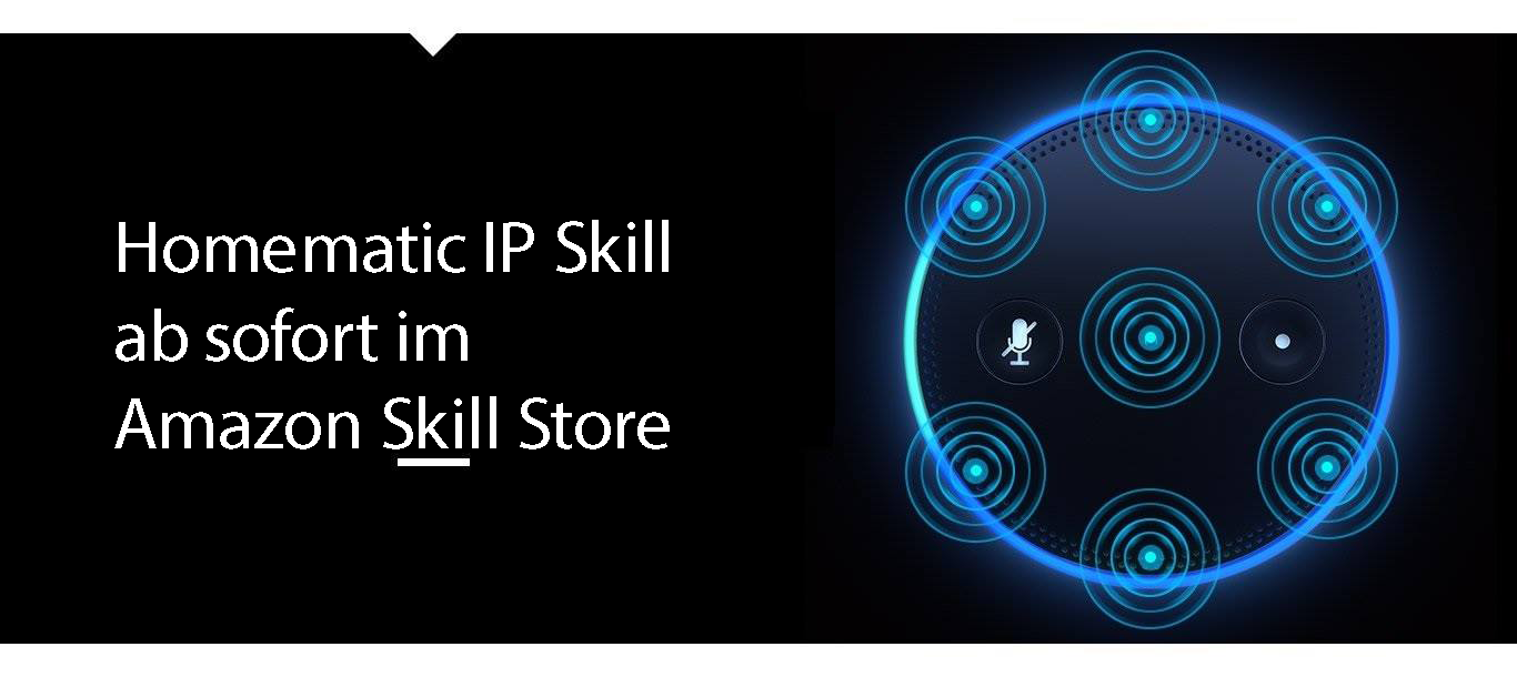 Homematic IP Skill bald online!