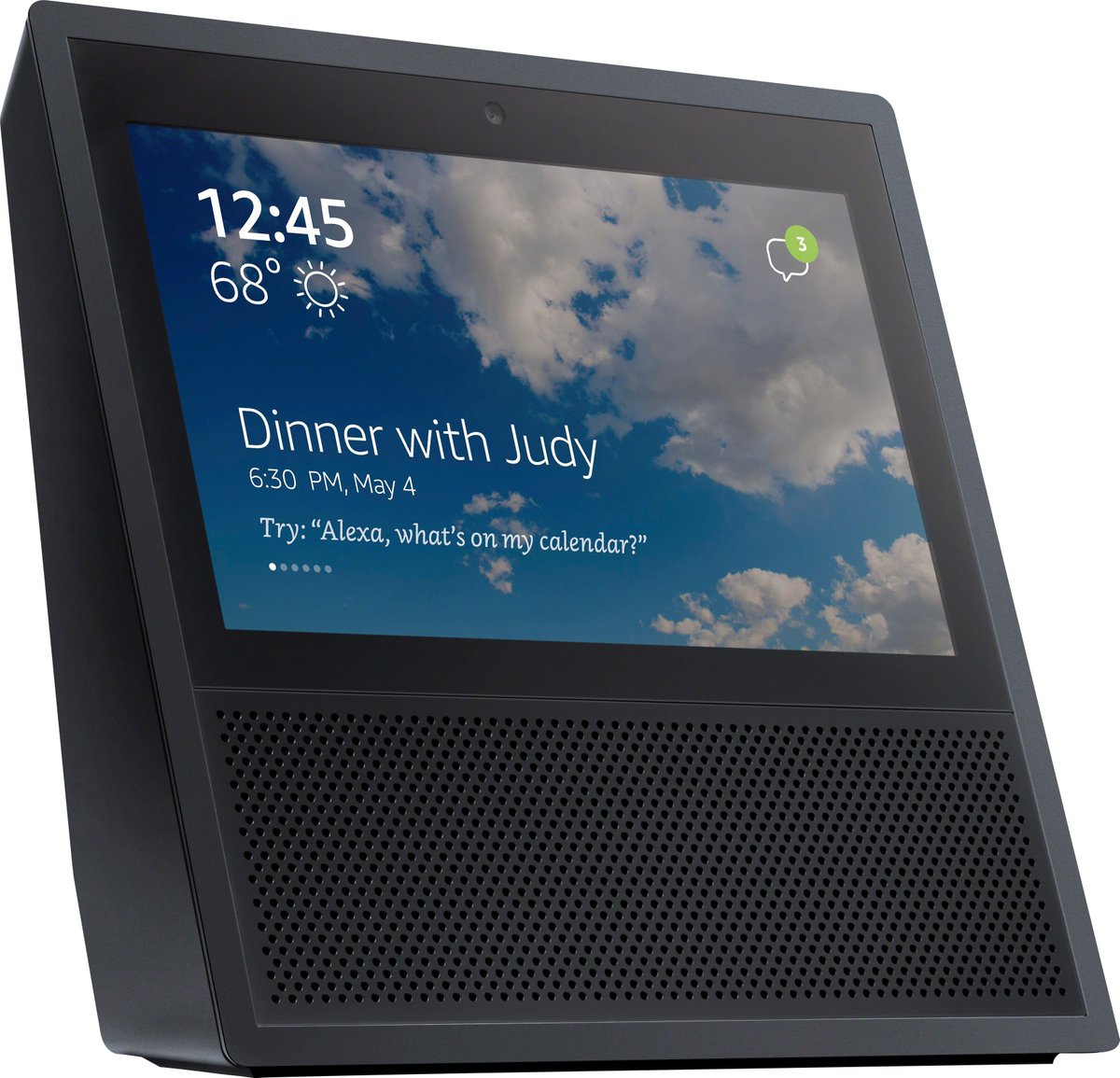Amazon Echo mit Display – erste Bilder